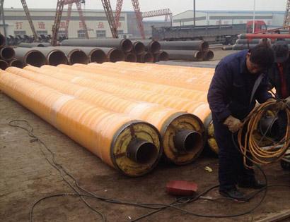 钢套钢直埋保温钢管
