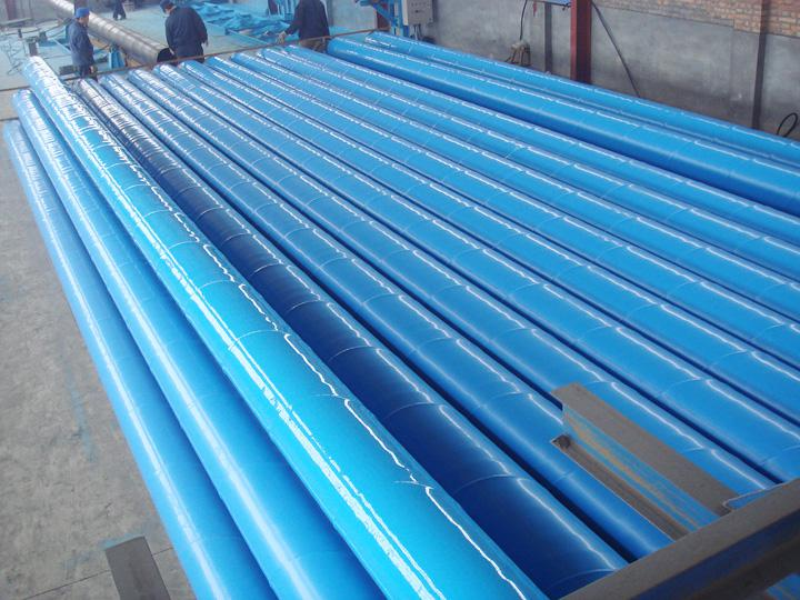 環氧樹脂防腐螺旋鋼管