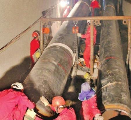 中缅油气管道建设