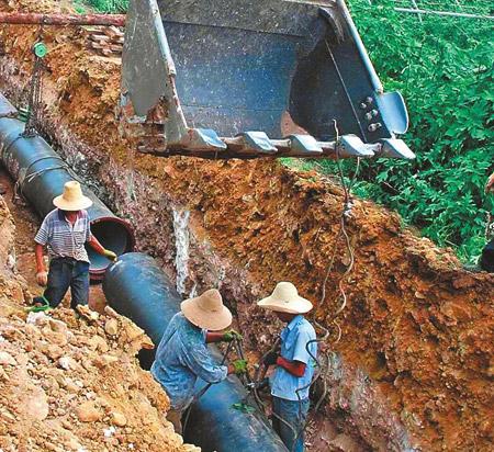 化念镇供水管道工程