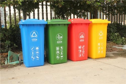 實驗中學垃圾桶