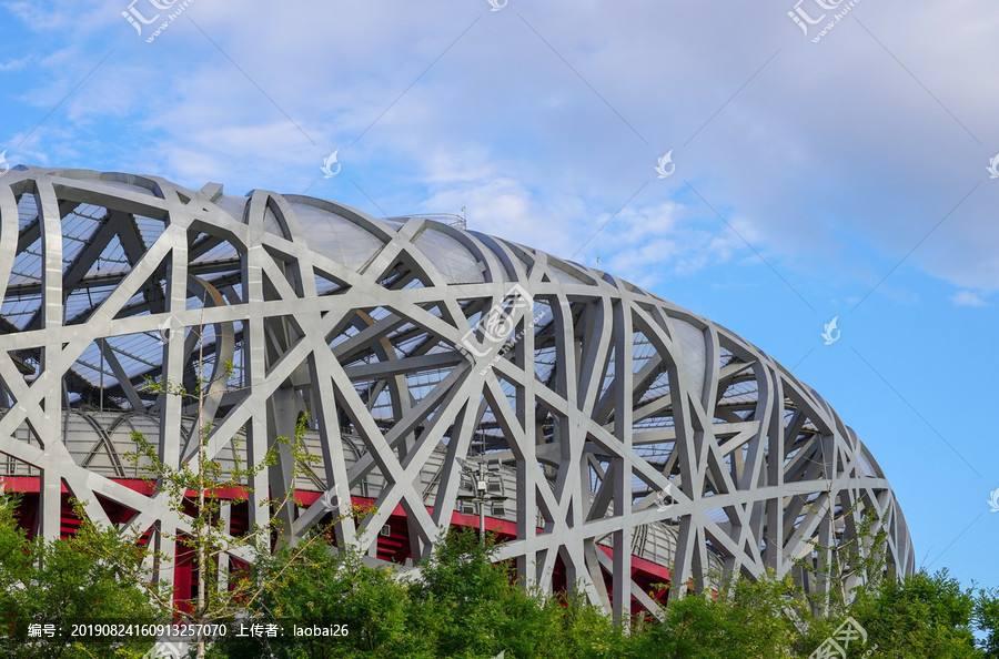 北京鸟巢奥运体育馆