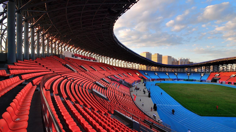 赤峰鸟巢体育馆
