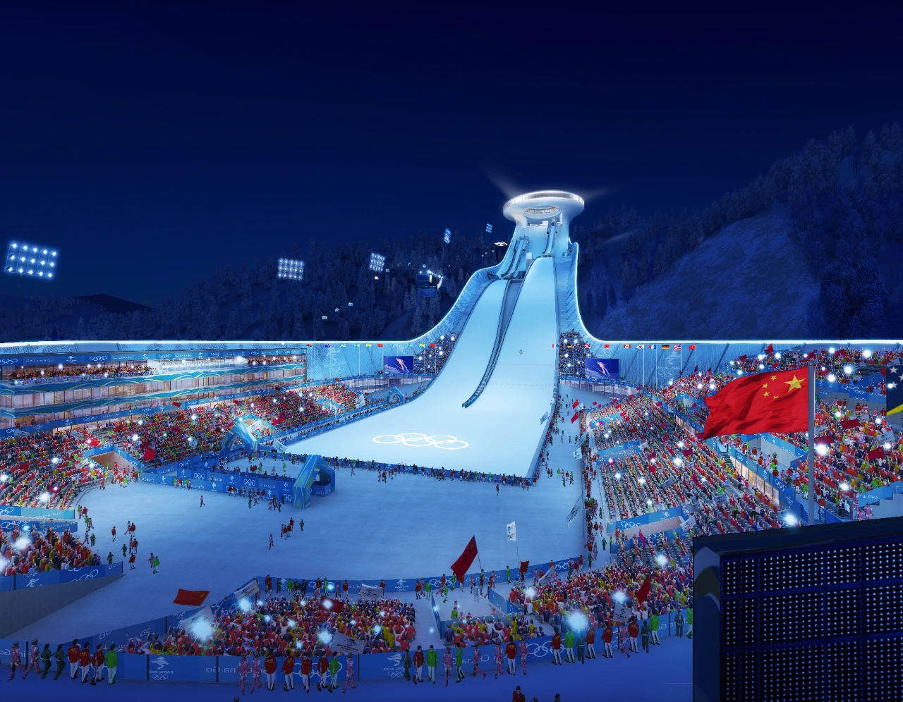 北京2022年冬奧會張家口奧運村及場館幕墻工程