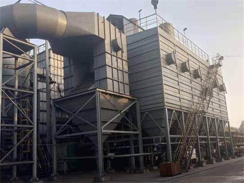 焦化廠推焦車布袋除塵器改造
