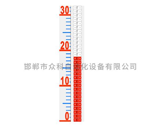 磁翻板液位计高温面板