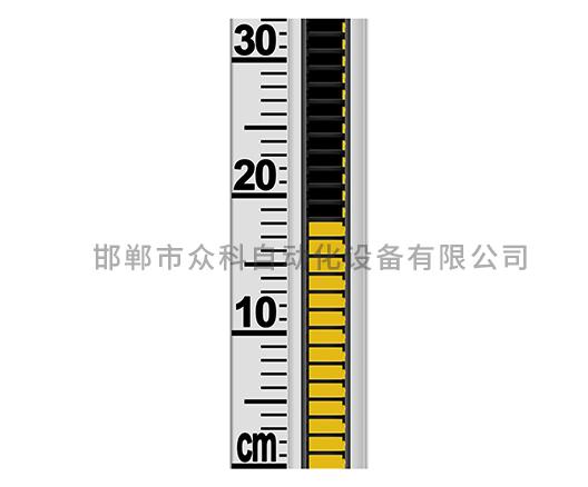 磁翻板液位计标准面板