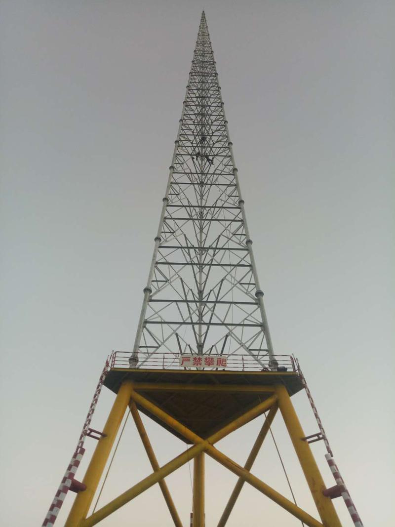 海南海上测风塔工程