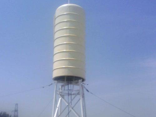 北京楼顶水塔型天线外罩铁塔