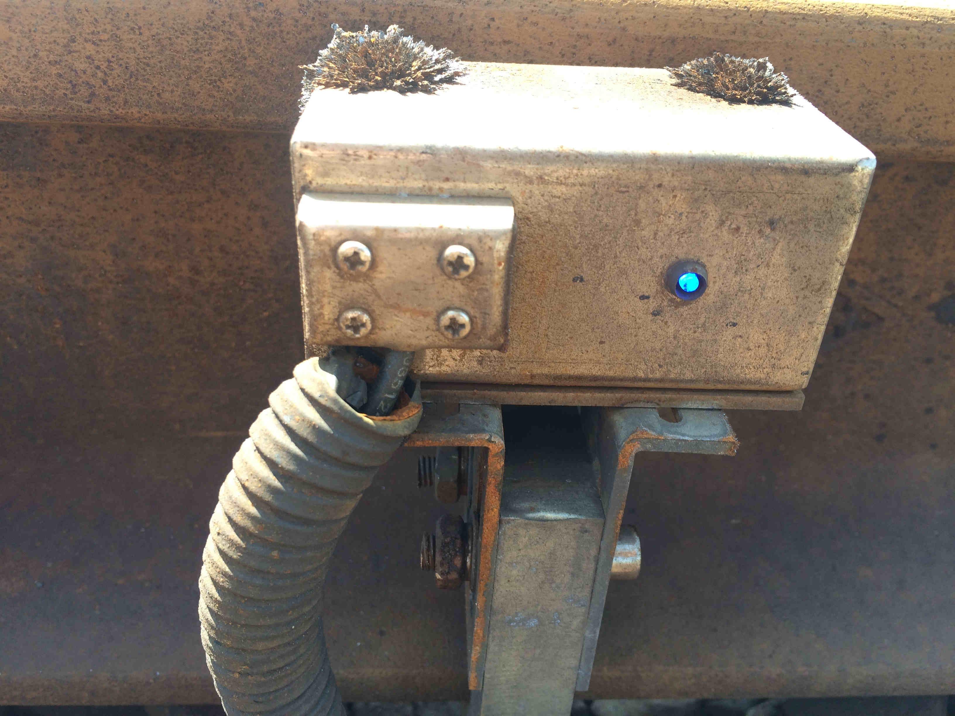 列车车轮(磁钢)传感器