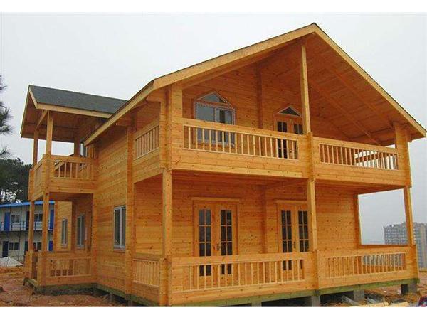 防腐木規劃的木屋房子優勢所在