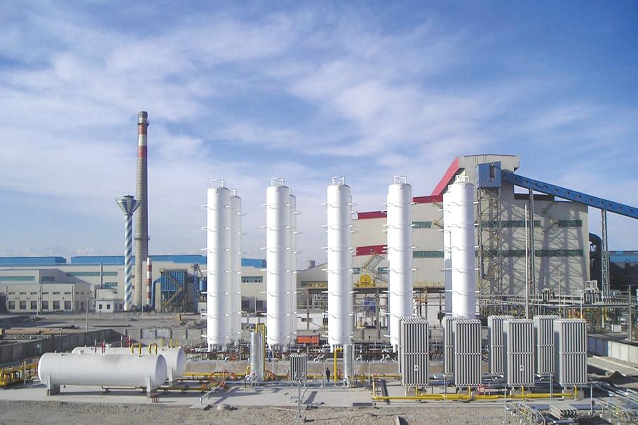甘肃酒泉钢厂-管道、设备保温工程