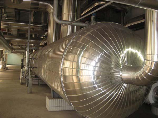 化工厂反应釜保温