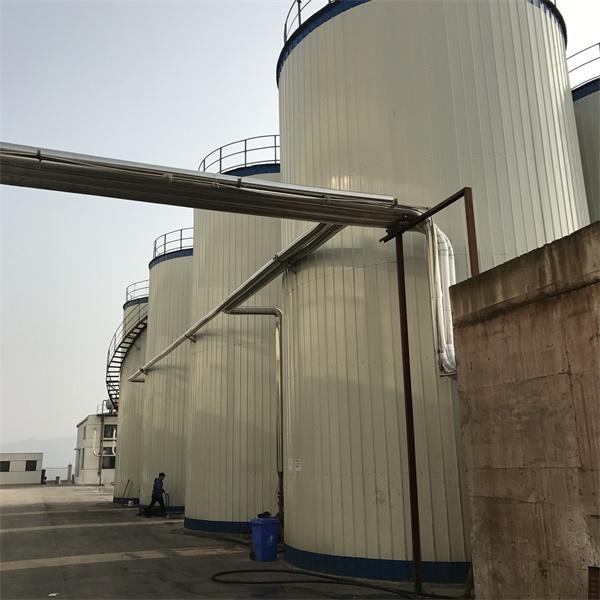 诺美大型罐体彩钢瓦硅酸铝保温施工