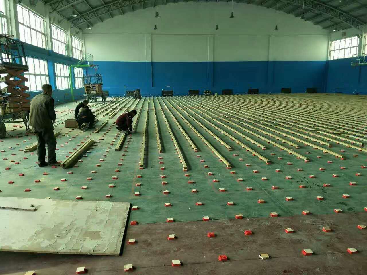 體育館運動木地板