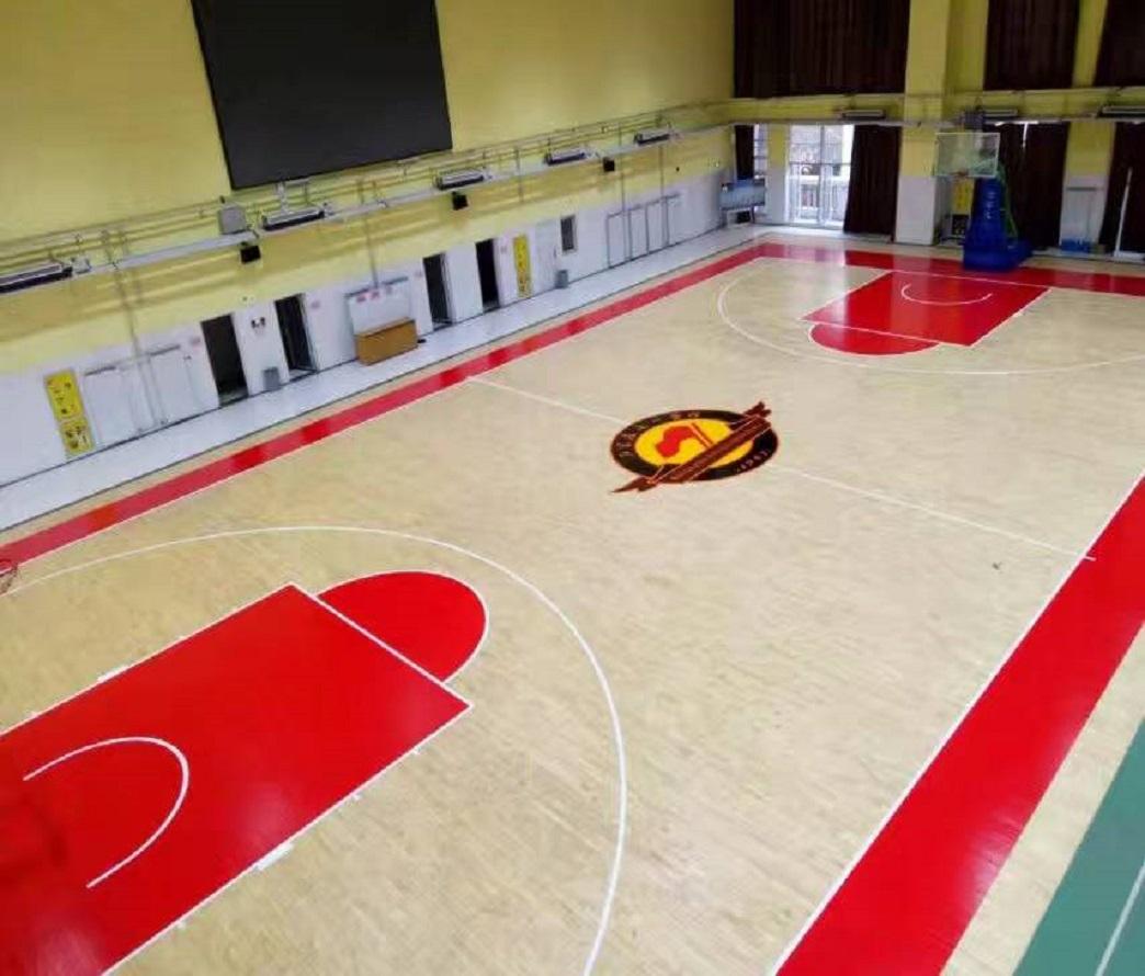 室內籃球場木地板