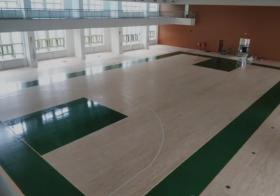 體育館用實木運動地板