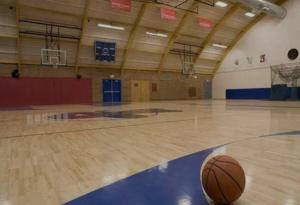 运动馆木地板