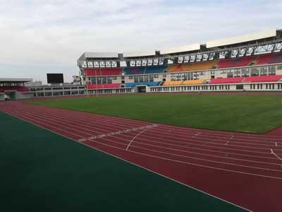 青岛平度奥体中心体育场5000平