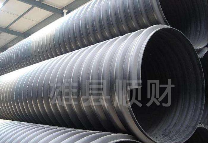 鋼帶增強螺旋波紋管