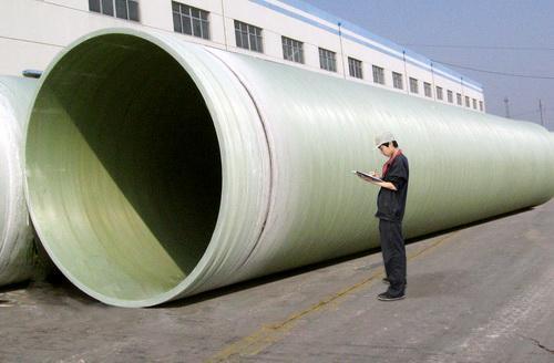 玻璃钢排水夹砂管道